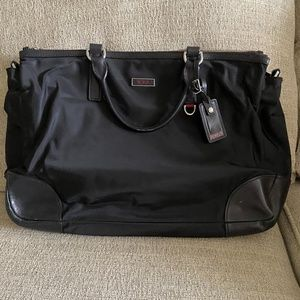 Tumi Nylon Padded Briefcase Bag in Black